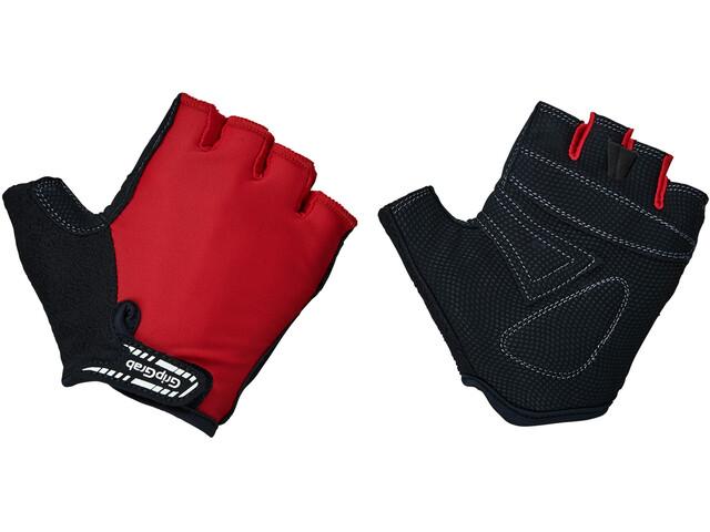 een paar dagen weg een grote verscheidenheid aan modellen goedkoopste GripGrab X-Trainer Halve Vinger Handschoenen Kinderen Kinderen, red